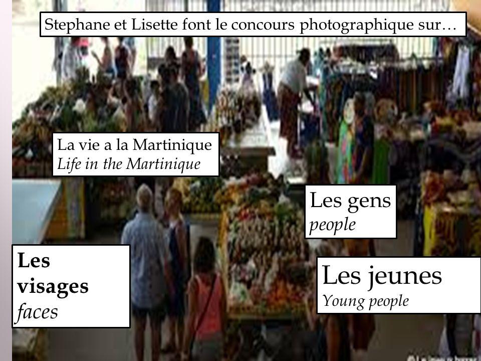 Stephane et Lisette font le concours photographique sur… La vie a la Martinique Life in the Martinique Les gens people Les visages faces Les jeunes Yo