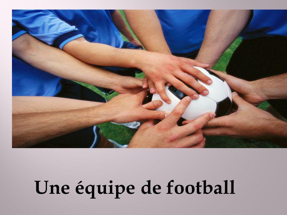 Une équipe de football