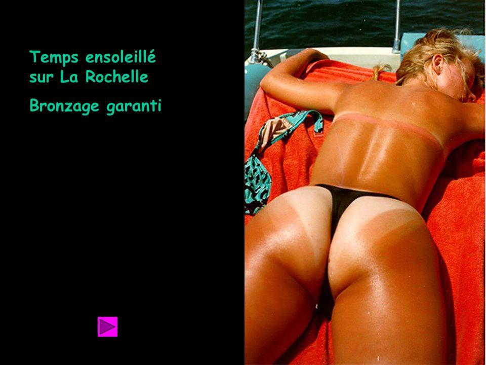 Retour Temps ensoleillé sur La Rochelle Bronzage garanti