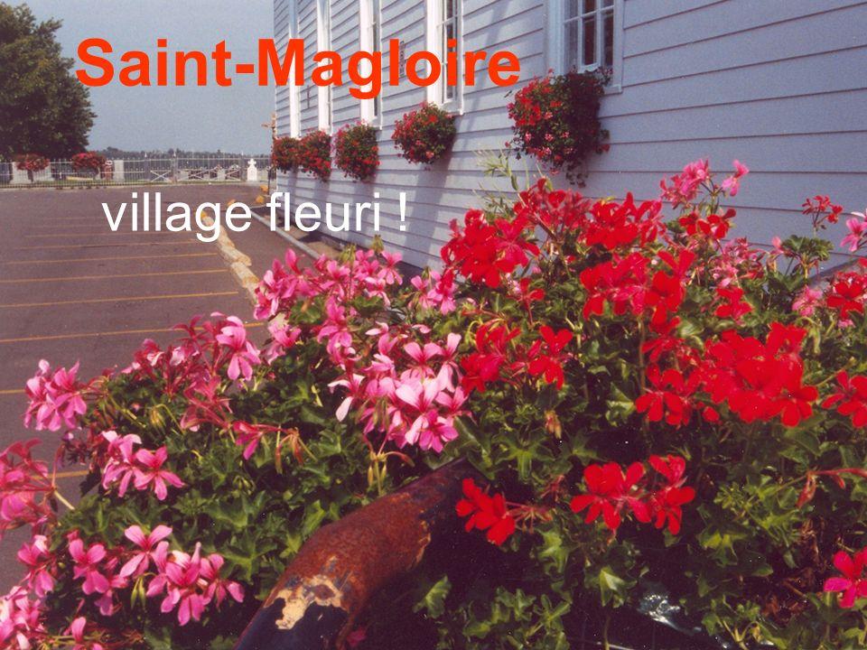 Saint-Magloire village fleuri !