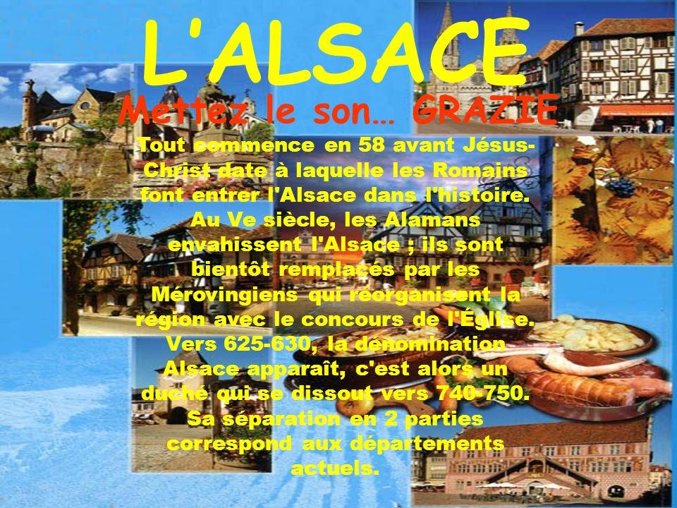 Tout commence en 58 avant Jésus- Christ date à laquelle les Romains font entrer l Alsace dans l histoire.