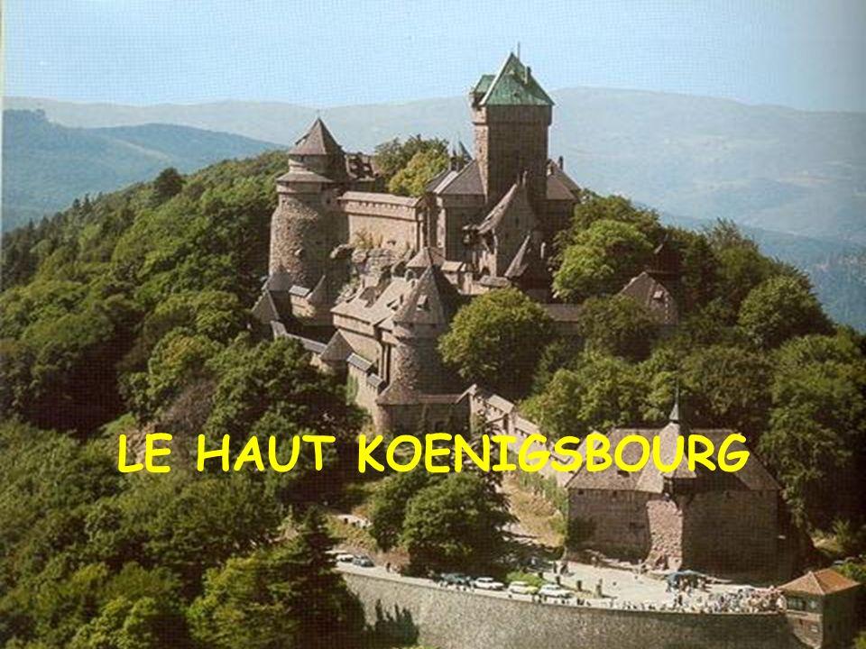 Le couvent du Mont Sainte-Odile
