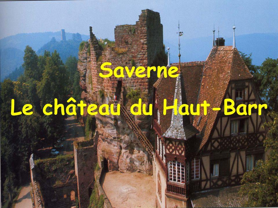 Saverne Façade principale du château des Rohan