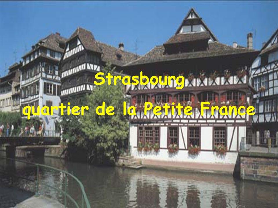 Strasbourg La maison des Tanneurs, dans la Petite France