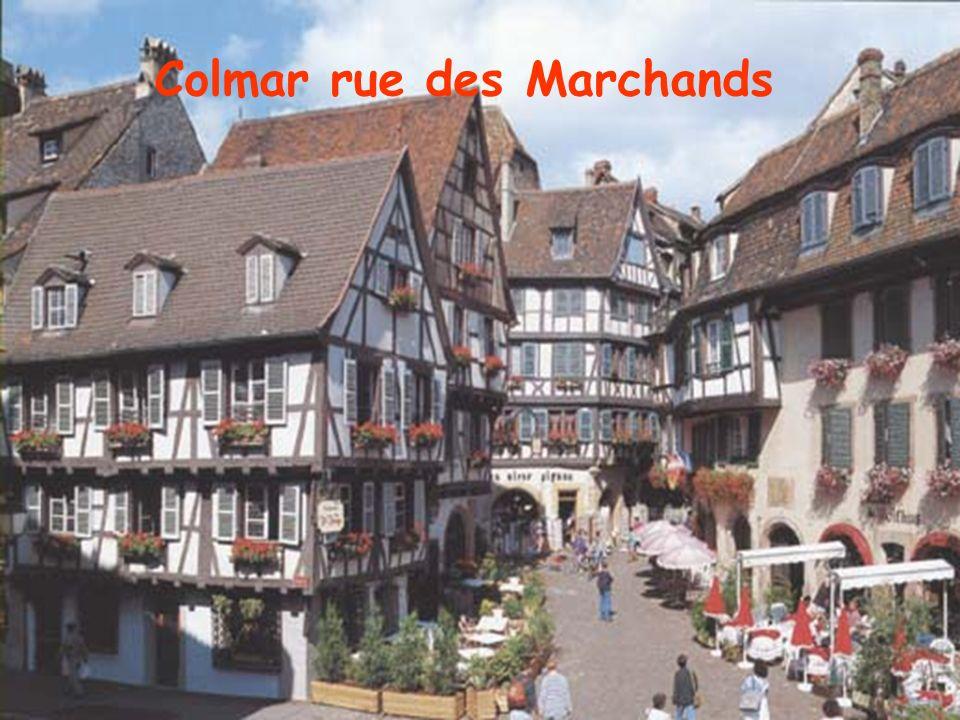 Obernai lHôtel de ville et la tour beffrois de la chapelle (72 m.) Obernai Place du Marché