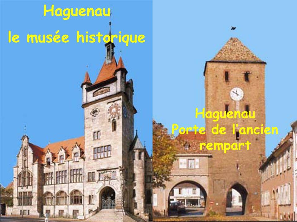 Haguenau le musée historique Haguenau Porte de lancien rempart