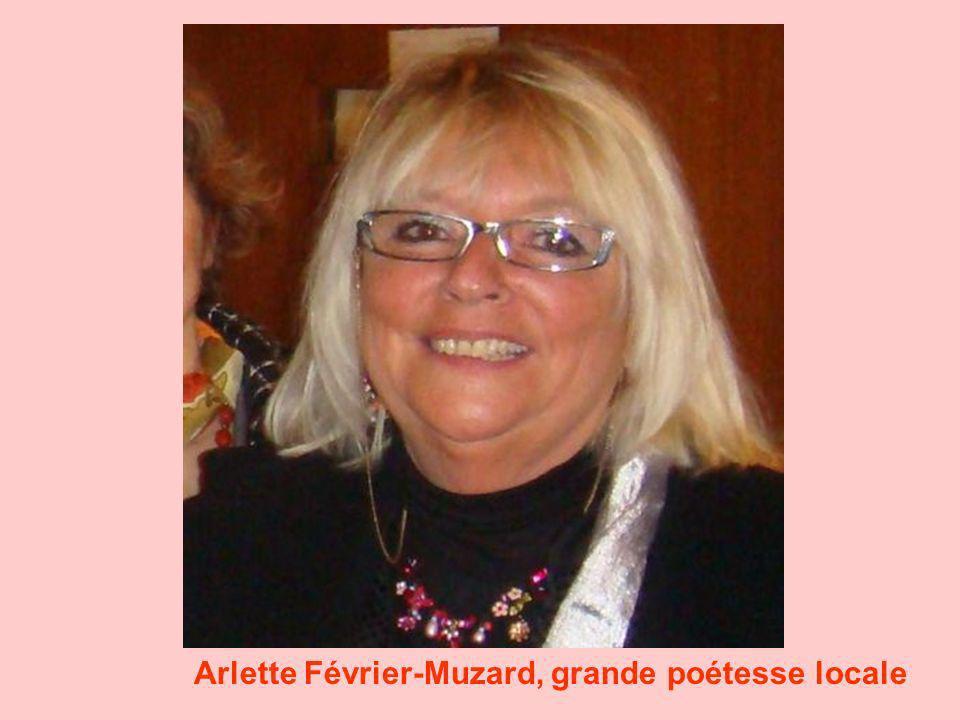 Arlette Février-Muzard, grande poétesse locale