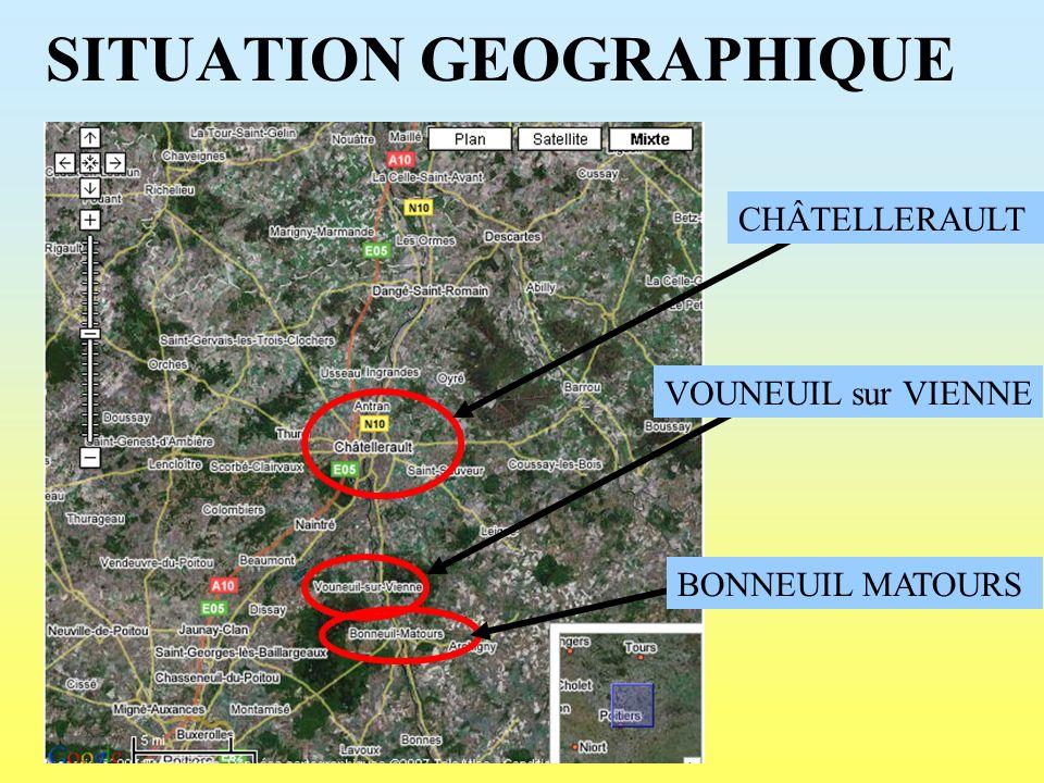 CHÂTELLERAULT PONT HENRI IV PONT CAMILLE DE HOGUES PONT MARECHAL LYAUTEY PONT EN CONSTRUCTION ROCADE EST
