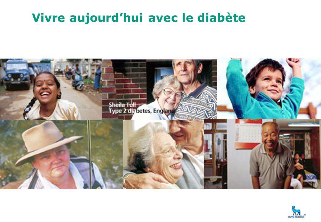 Vivre aujourdhui avec le diabète