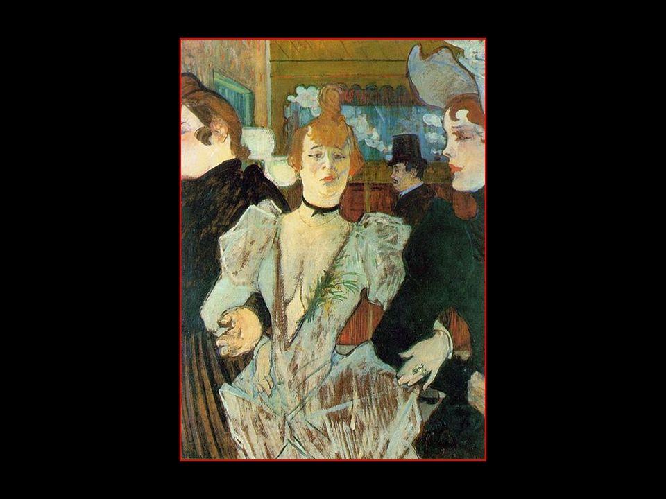 La Goulue entrant au Moulin Rouge 1892