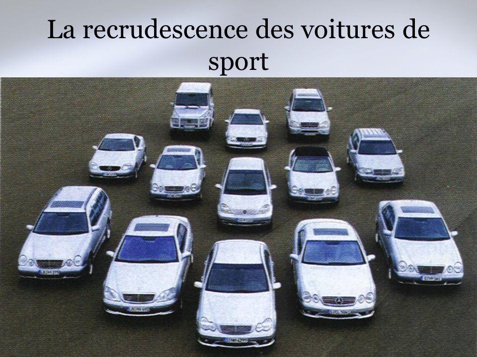 Damien de LABARRIERE Le Marché de lautomobile haut de gamme La recrudescence des voitures de sport