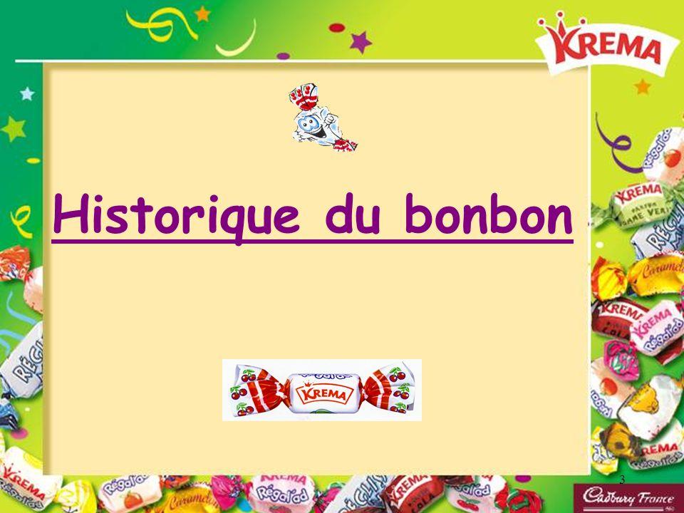 3 Historique du bonbon