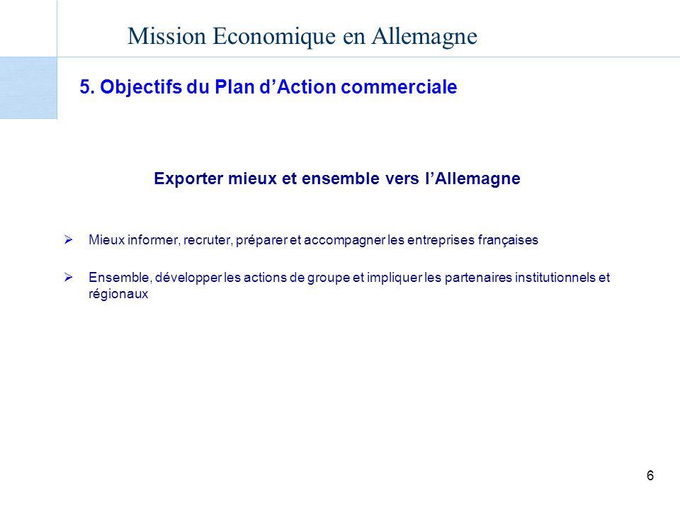 Mission Economique en Allemagne 6 5.