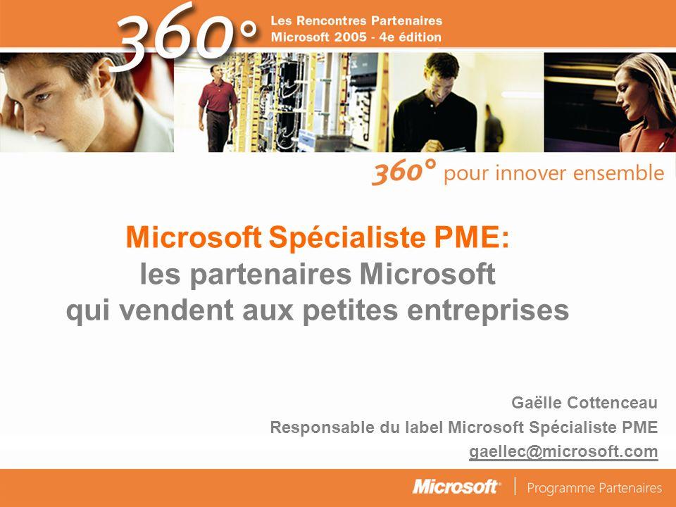 © Connect Factory 2005 – Les descriptions d opérations faites dans cette plaquette doivent être considérées comme des données confidentielles Loffre Microsoft pour les petites entreprises: opportunités.