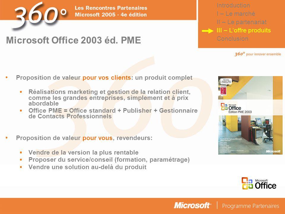 © Connect Factory 2005 – Les descriptions d'opérations faites dans cette plaquette doivent être considérées comme des données confidentielles Microsof