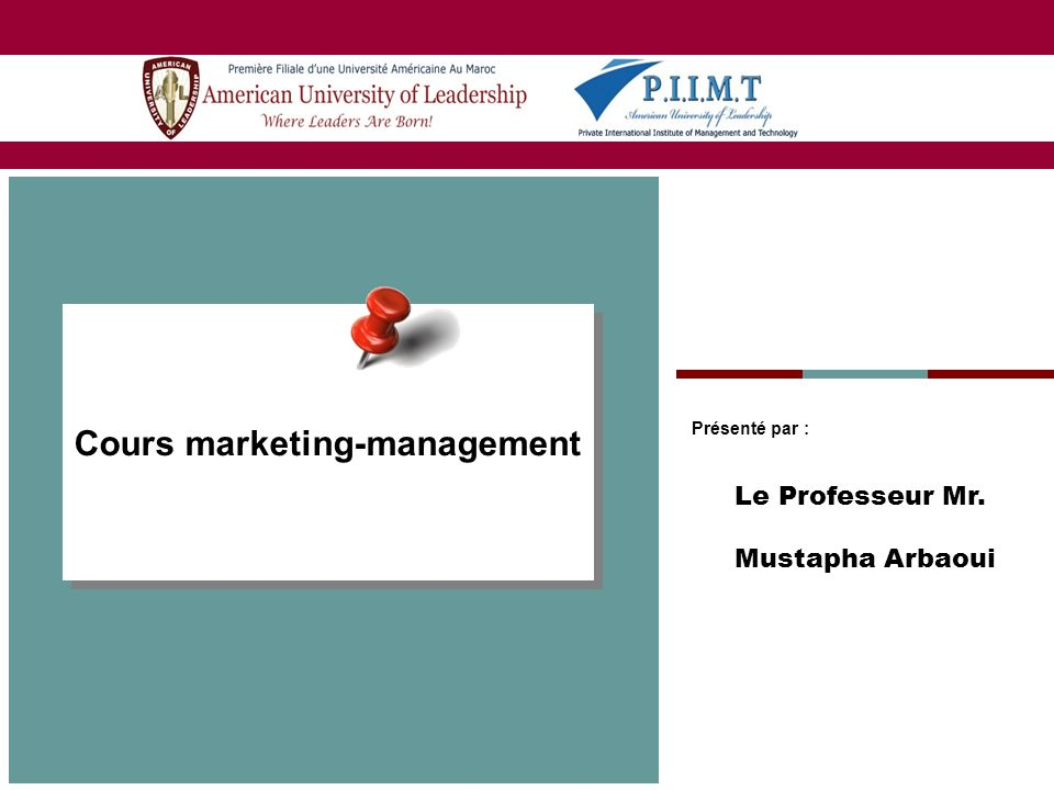 2 Chapitre I : Lanalyse du marché I / Le système dinformation marketing Les informations internes 1/ Le cycle commercial 2/ Les relevés de vente 3/ Les bases de données