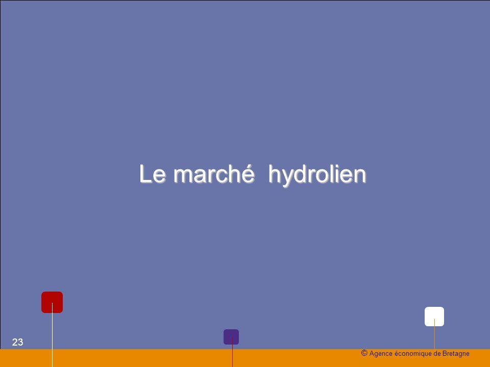 Le marché hydrolien © Agence économique de Bretagne 23