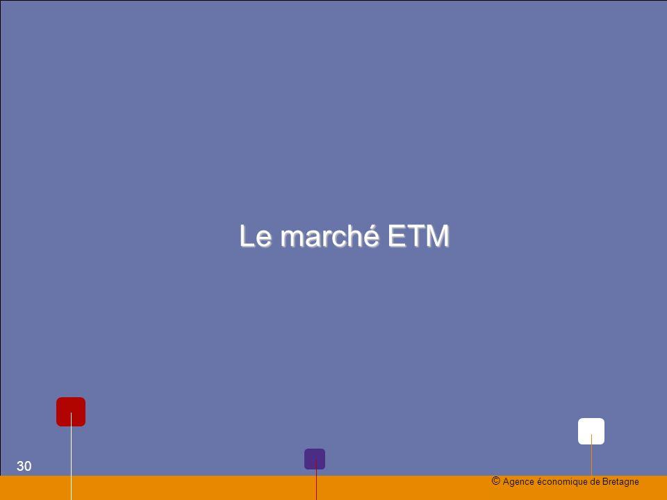 Le marché ETM © Agence économique de Bretagne 30