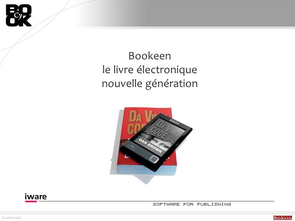 Bookeen commercialise son nouveau livre électronique depuis le 28 octobre 2007.