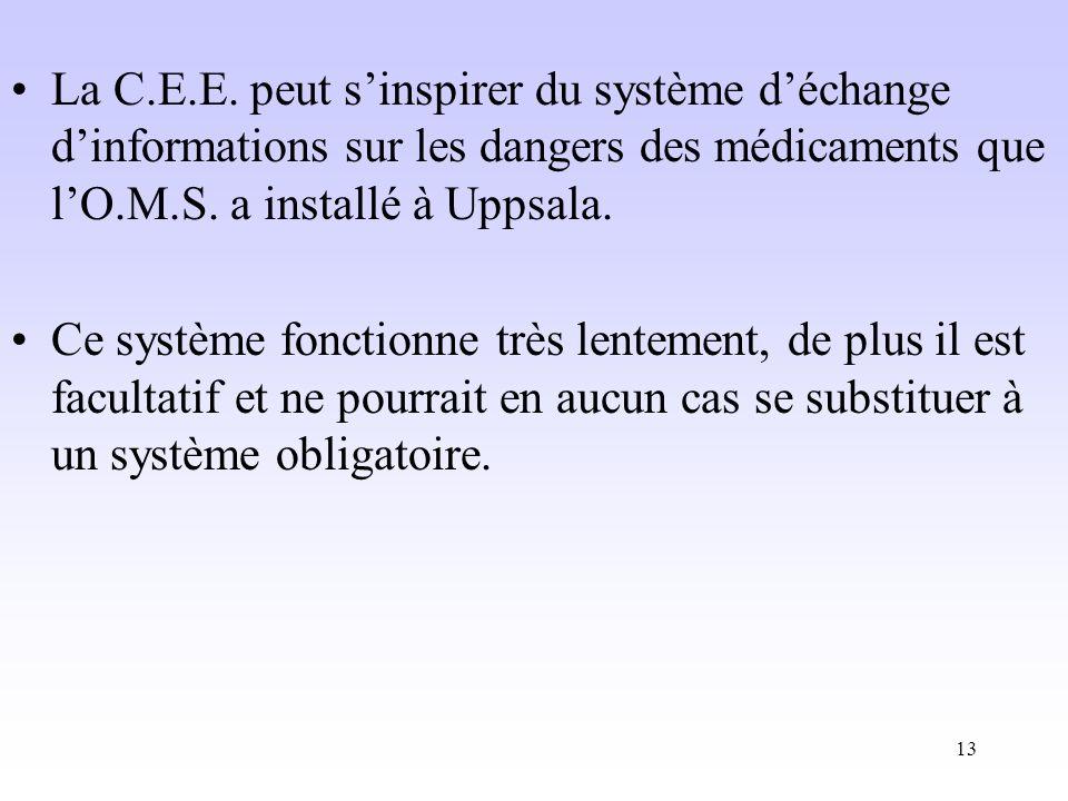 13 La C.E.E.