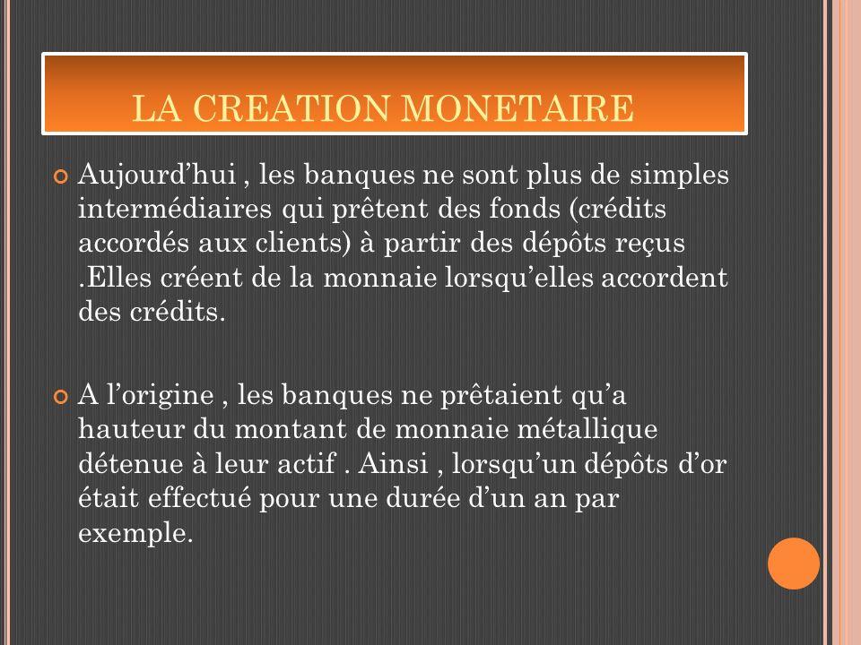 La monnaie se présente aujourdhui sous trois formes principales. Il ya la Monnaie Divisionnaire ( pièces ou monnaie métallique) La monnaie fiduciaire