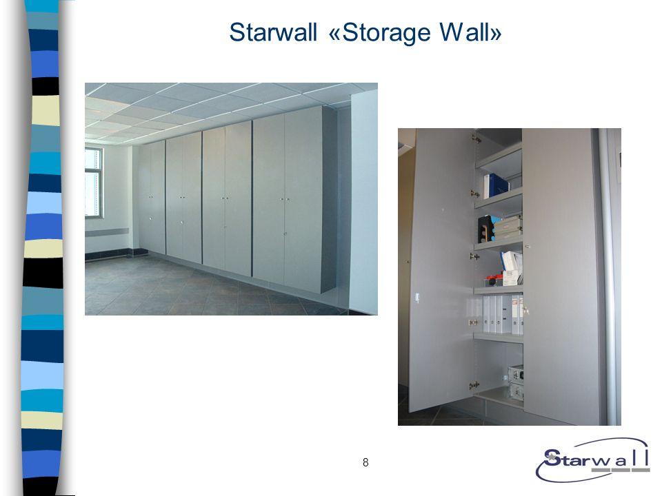 8 Starwall «Storage Wall»
