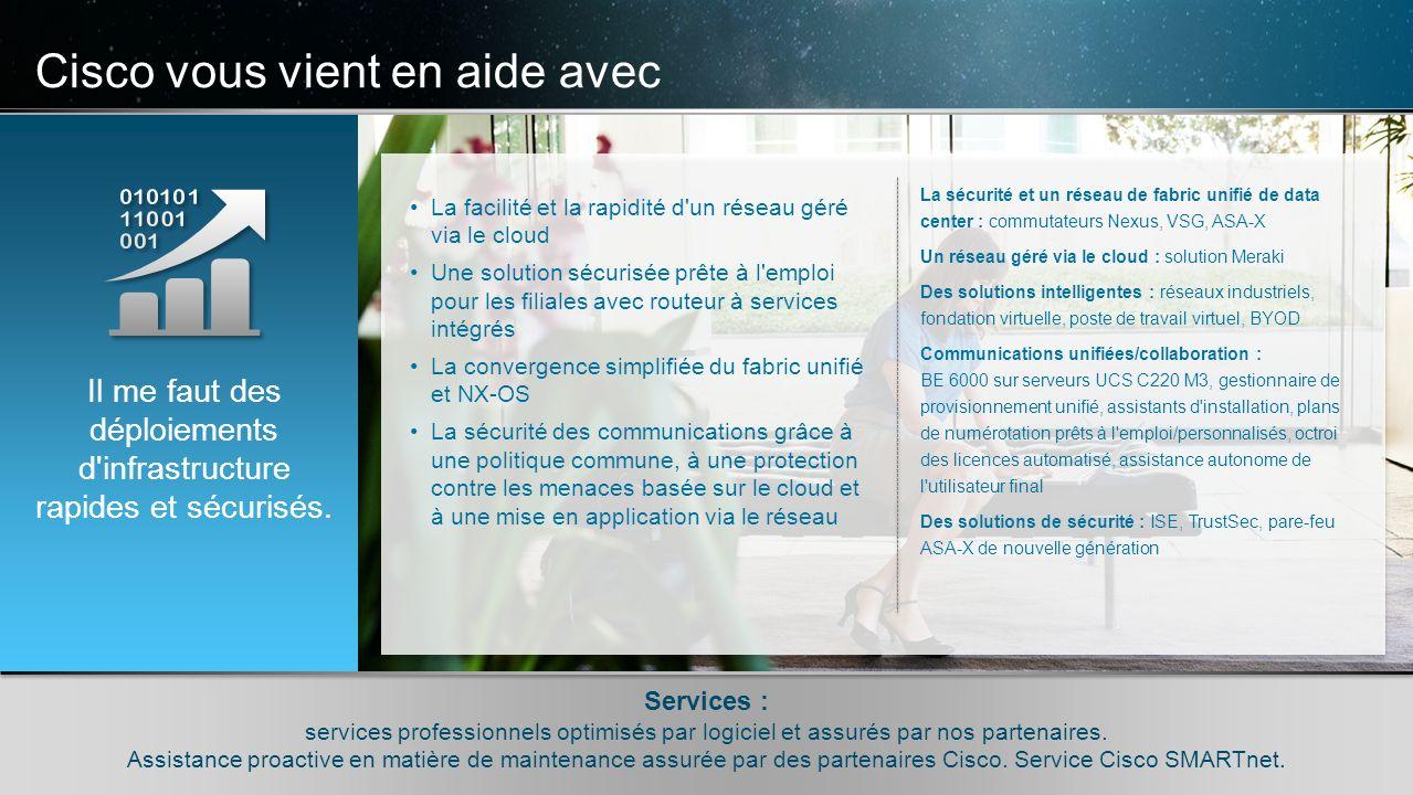 © 2010 Cisco et/ou ses filiales. Tous droits réservés. Informations confidentielles de Cisco 10 © 2010 Cisco et/ou ses filiales. Tous droits réservés.
