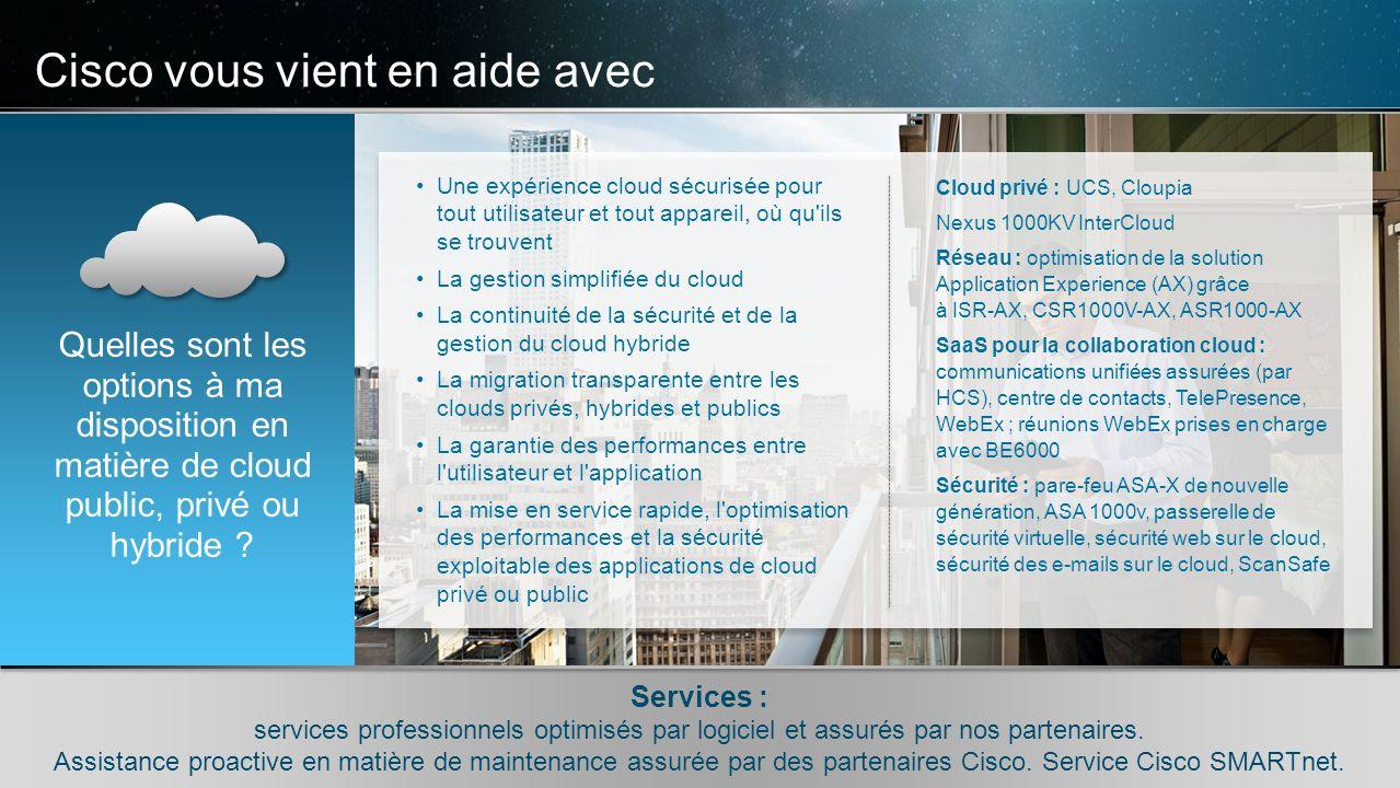 © 2010 Cisco et/ou ses filiales. Tous droits réservés. Informations confidentielles de Cisco 8 © 2010 Cisco et/ou ses filiales. Tous droits réservés.