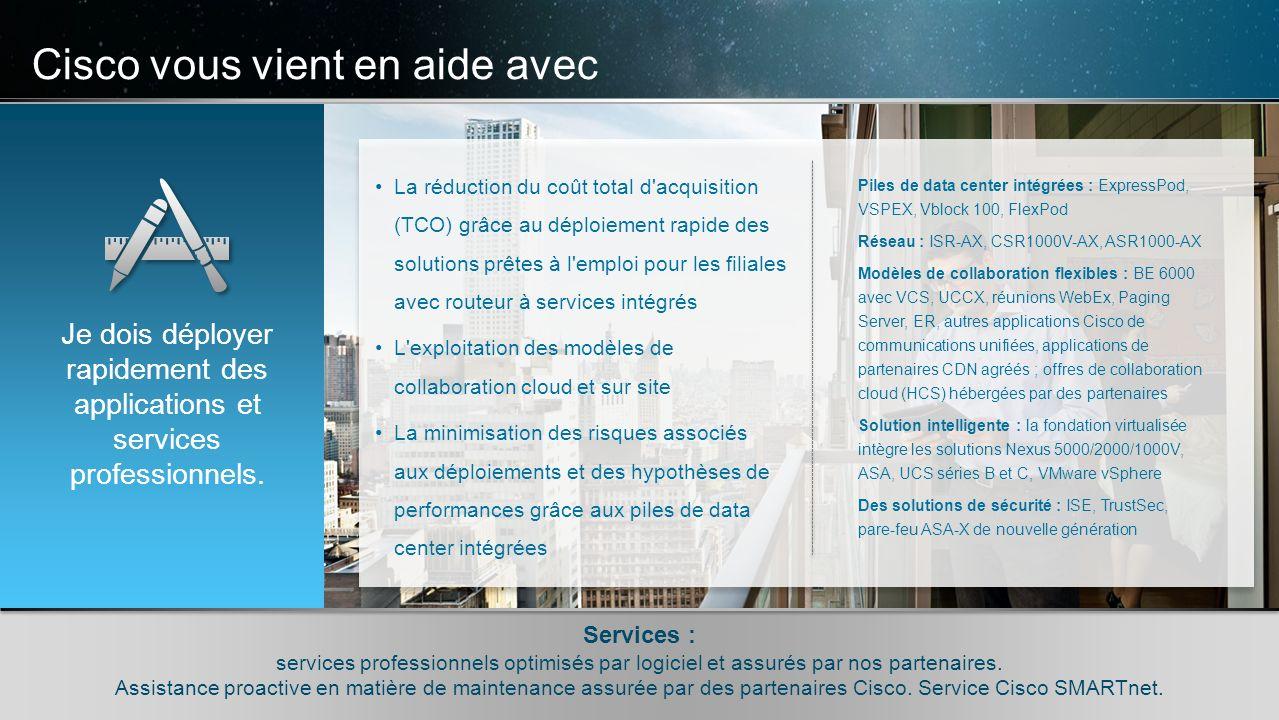 © 2010 Cisco et/ou ses filiales. Tous droits réservés. Informations confidentielles de Cisco 9 © 2010 Cisco et/ou ses filiales. Tous droits réservés.