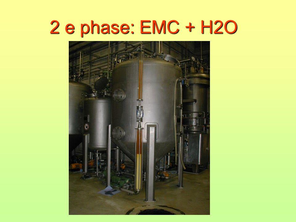 2 e phase: EMC + H2O
