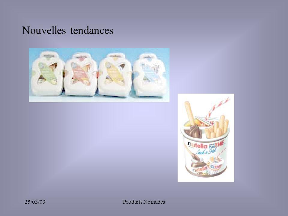 25/03/03Produits Nomades Nouvelles tendances