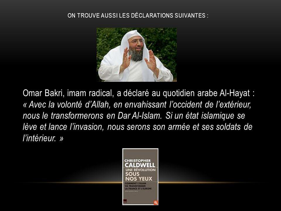 . Si lIslam na rien à voir avec le terrorisme, pourquoi tous les gouvernements européens éprouvent-ils le besoin de tendre la main aux groupes musulmans après chaque attaque terroriste
