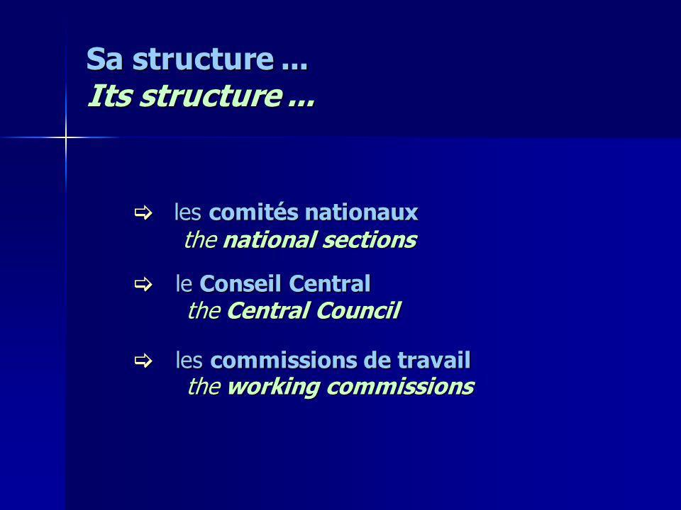 Sa structure... Its structure...