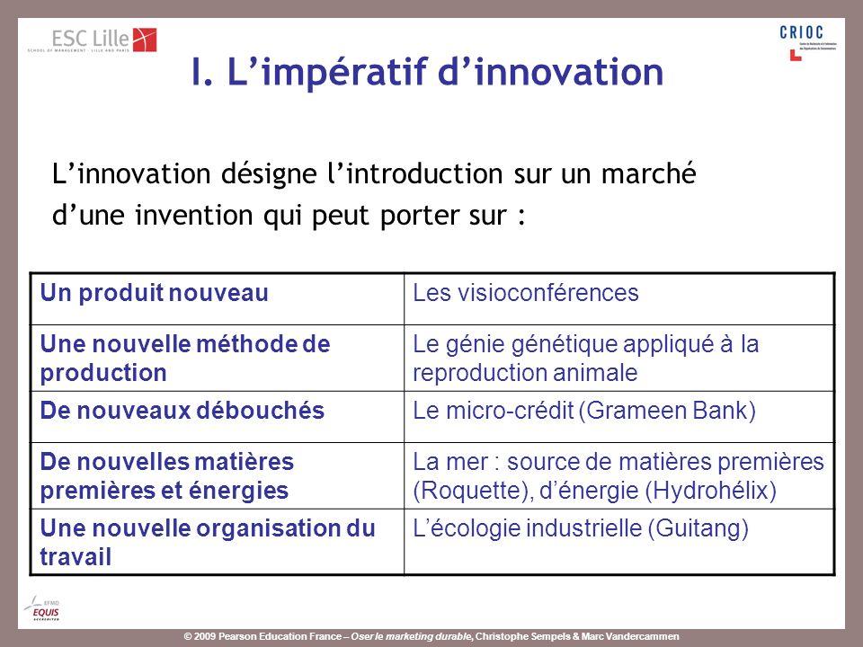 © 2009 Pearson Education France – Oser le marketing durable, Christophe Sempels & Marc Vandercammen Production et population augmentent à un rythme soutenu (3,2% et 1,2% pour 2007).
