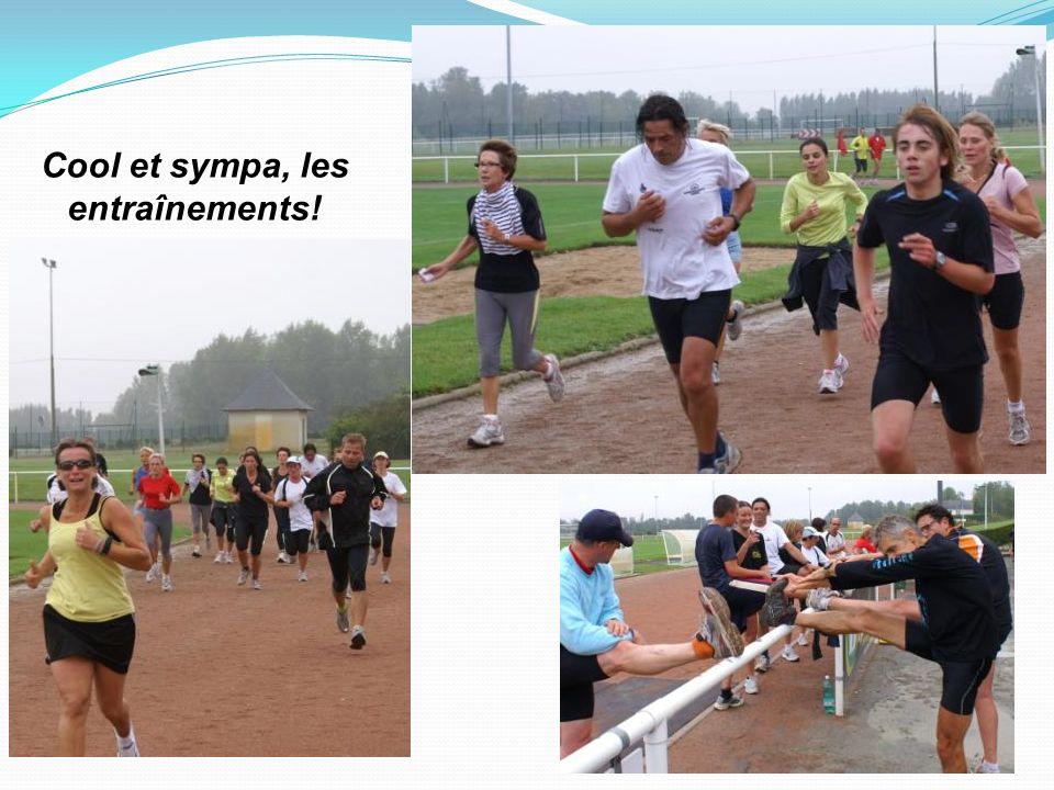 Courses Les membres du club participent à toutes les courses du département, de la région, à certaines courses nationales et internationales allant de 5 à 100 km, voire davantage pour les mordus.