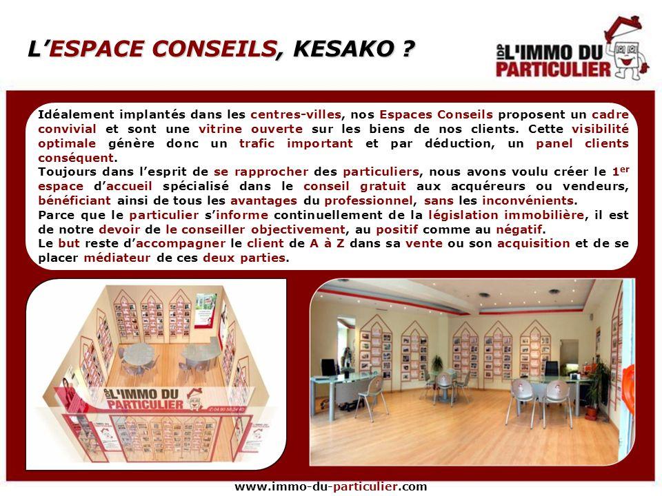 www.immo-du-particulier.com DES MOYENS EN TOUTE FRANCHISE Texte Logo, affiches, enseigne, panneaux et flyers, tout sera mis en place pour faciliter la