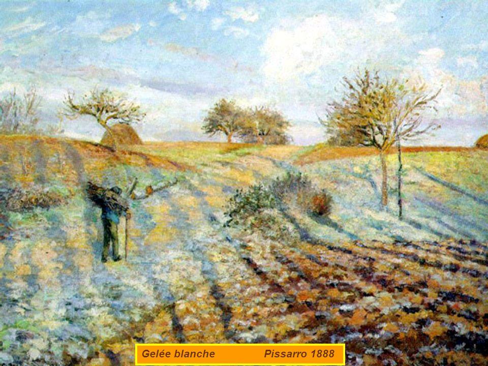 Gelée blanche Pissarro 1888