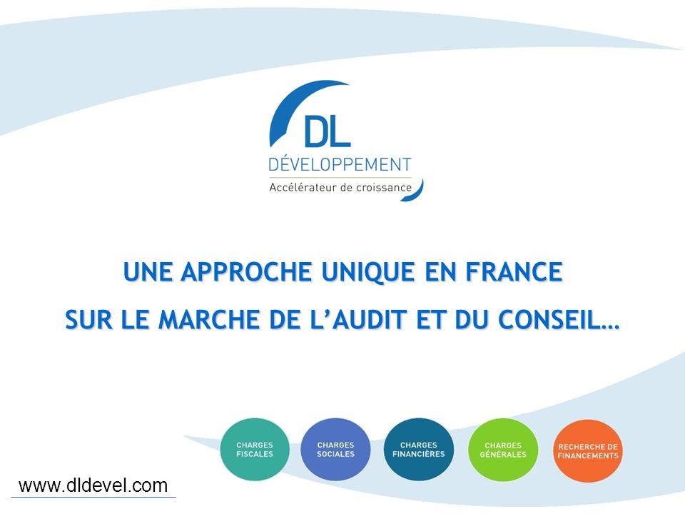 www.dldevel.com 1 minute pour nous connaître – D.L DEVELOPPEMENT UNE APPROCHE UNIQUE EN FRANCE SUR LE MARCHE DE LAUDIT ET DU CONSEIL… www.dldevel.com