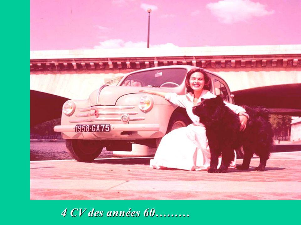4 CV des années 60………