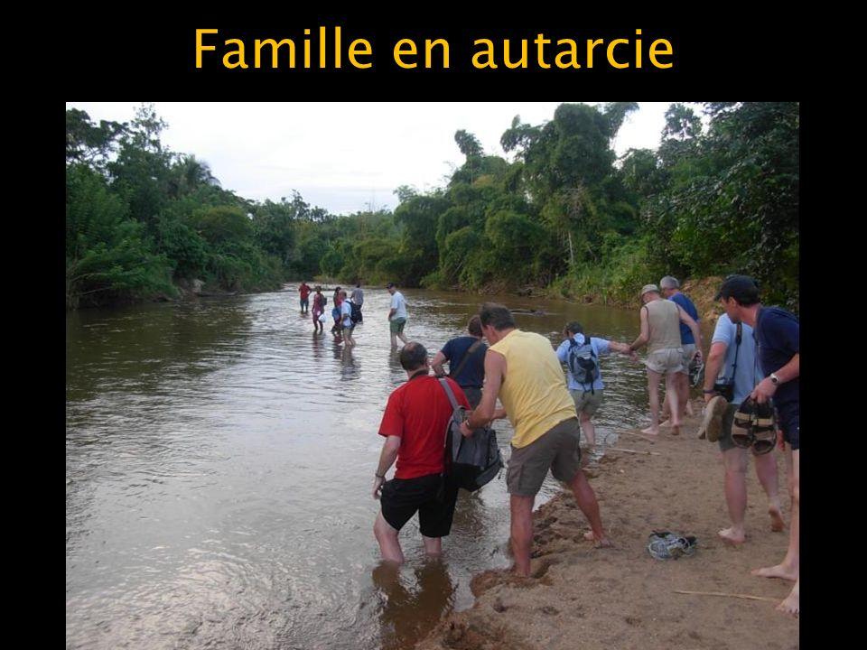 Famille en autarcie