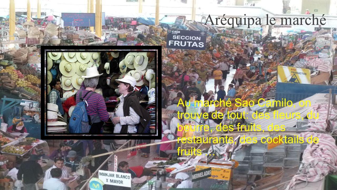 AREQUIPA Arequipa est la capitale de la région péruvienne du même nom, et la deuxième ville la plus peuplée du pays.