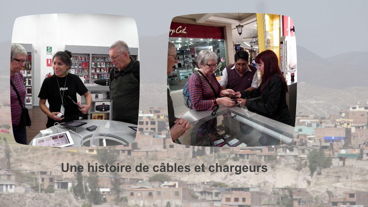 Une histoire de câbles et chargeurs