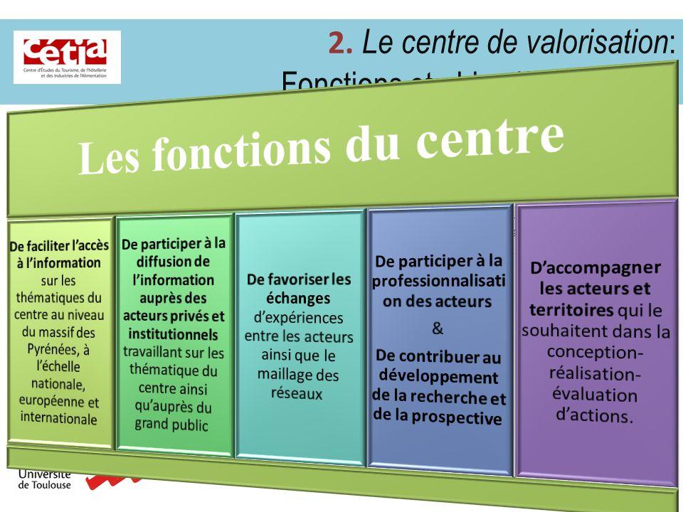 2.2 Le centre de valorisation : fonctionnement.4 3.