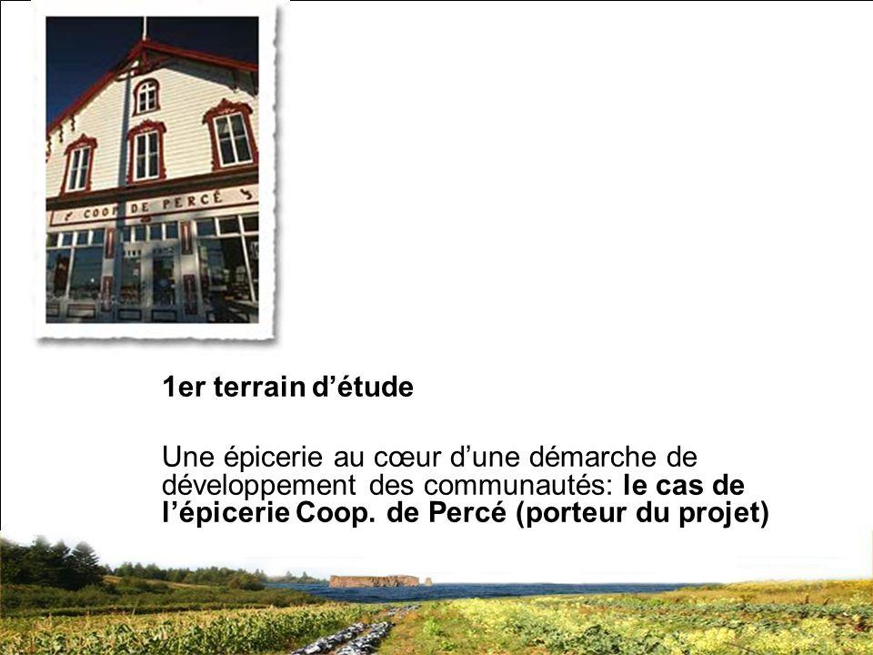 SRQ 05/09produirelasanteensemble.com12 1er terrain détude Une épicerie au cœur dune démarche de développement des communautés: le cas de lépicerie Coop.