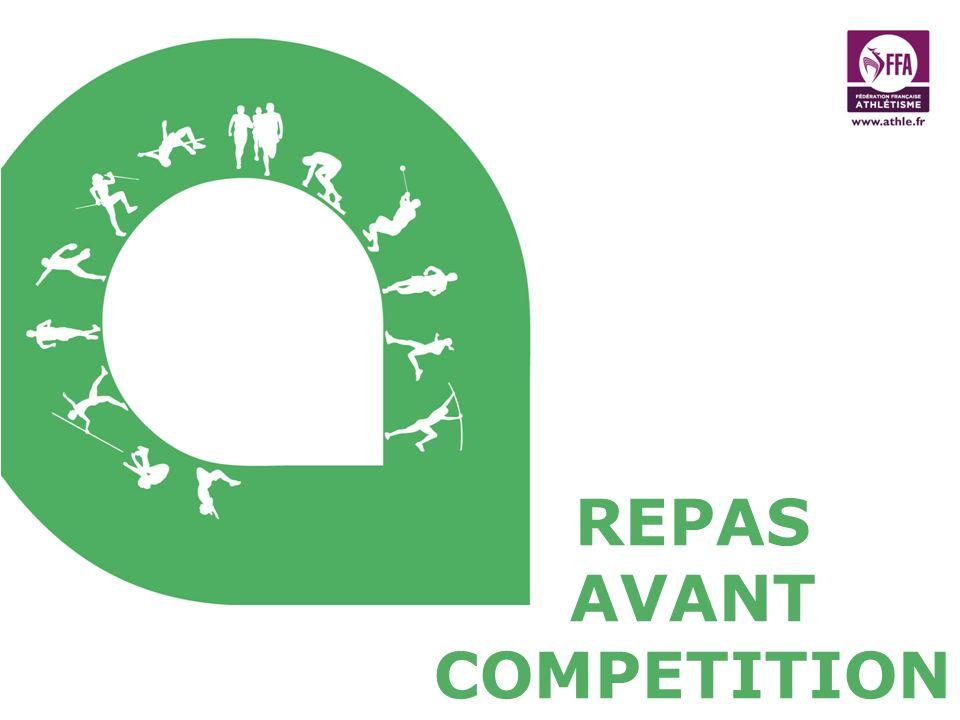 REPAS AVANT COMPETITION