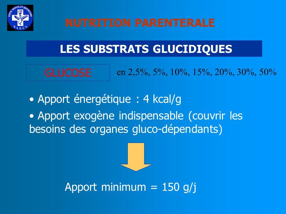 NUTRITION PARENTERALE LES SUBSTRATS PROTEIQUES DIPEPTIVEN (0,3g/kg/j) N(2) L-alanyl-L-glutamine LArginine et la Glutamine activent le système immunita