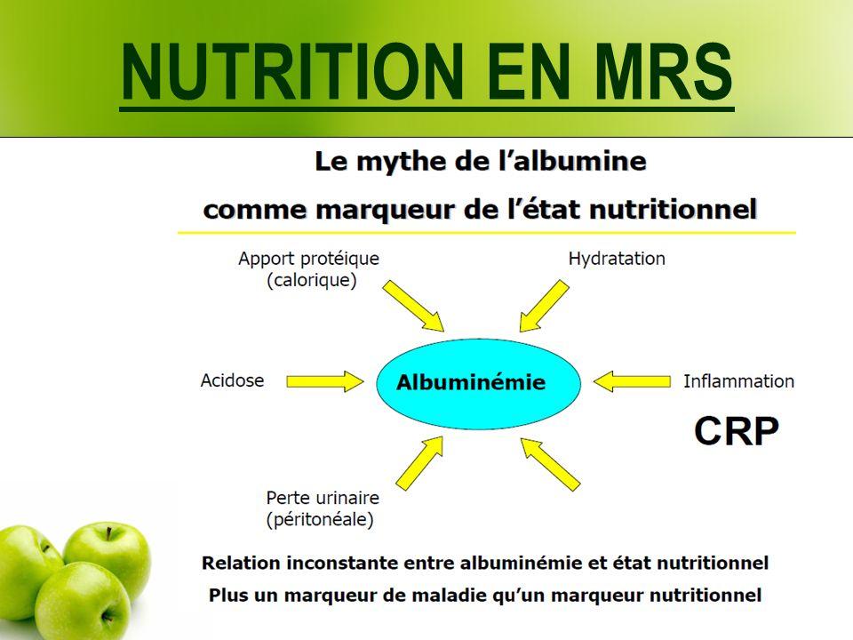 NUTRITION EN MRS Et pour se faire : Informer les médecins - Du contenu de la charte Qualité Nutrition - des modalités de dépistage de la dénutrition - de leur rôle dans le dépistage et la mise au point des résidents identifiés à risque.