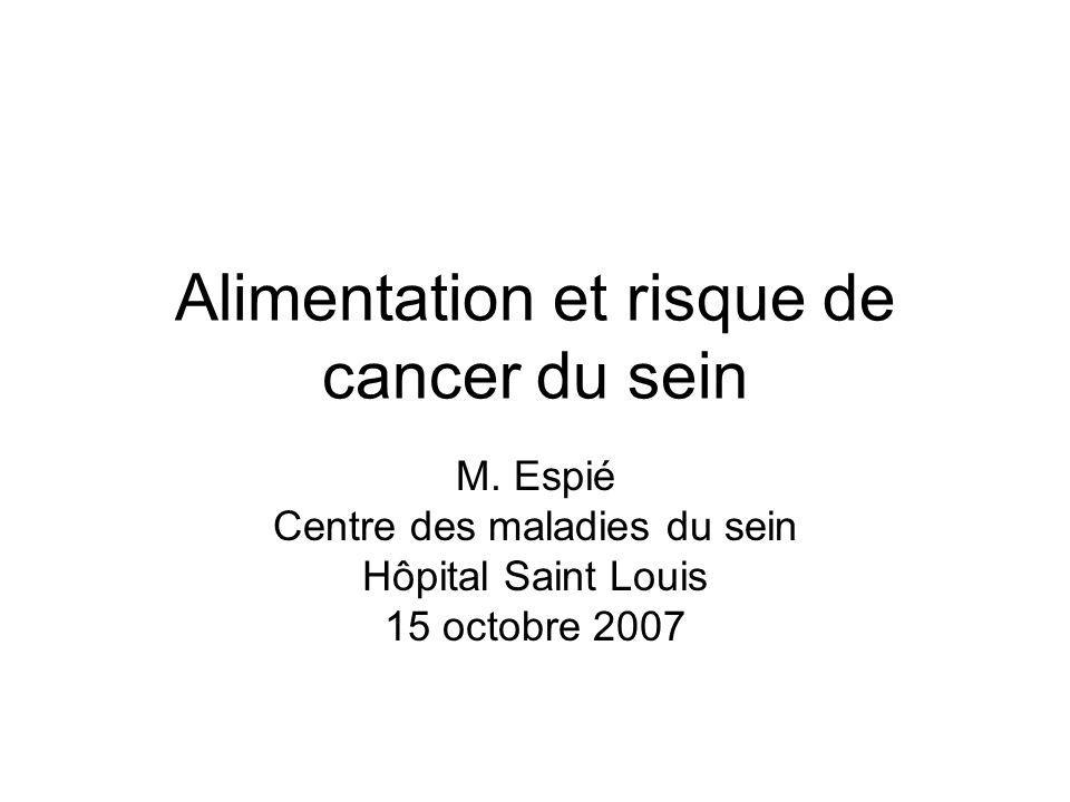 Épidémiologie: définitions Incidence dun cancer: nombre de nouveaux cas de cancer survenant sur un période donnée (souvent pendant un an) Prévalence dun cancer: nombre de cas de cancers existant à un moment donné Mortalité: décès liés au cancer sur une période donnée Nécessité de registres du cancer
