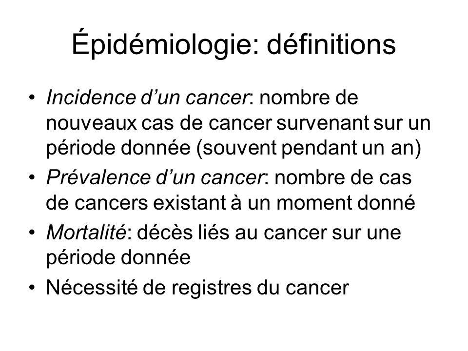 Épidémiologie Comment étudier.
