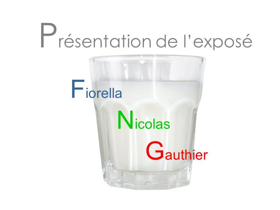 P résentation de lexposé N icolas G authier F iorella